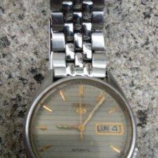 Relojes - Seiko: RELOJ SEIKO 5 AUTOMÁTICO FUNCIONANDO CORRECTAMENTE. Lote 116831283