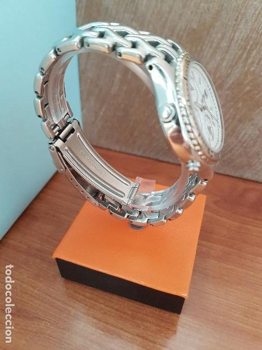 Relojes - Seiko: Reloj caballero (Vintage) SEIKO cronografo, alarma calendario de cuarzo, correa original Seiko - Foto 3 - 117379695