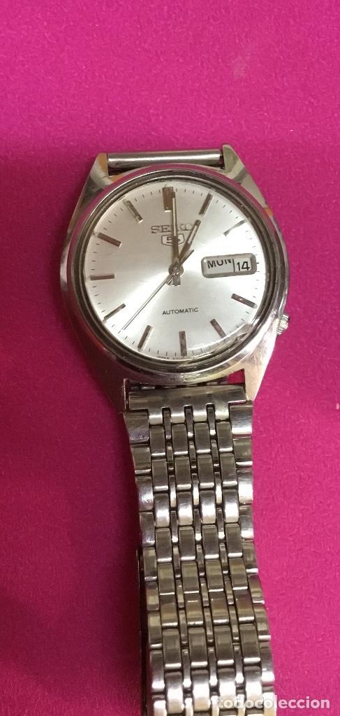 Relojes - Seiko: Lote cuatro relojes uno de ellos Seiko para reparar o piezas - Foto 2 - 118761819