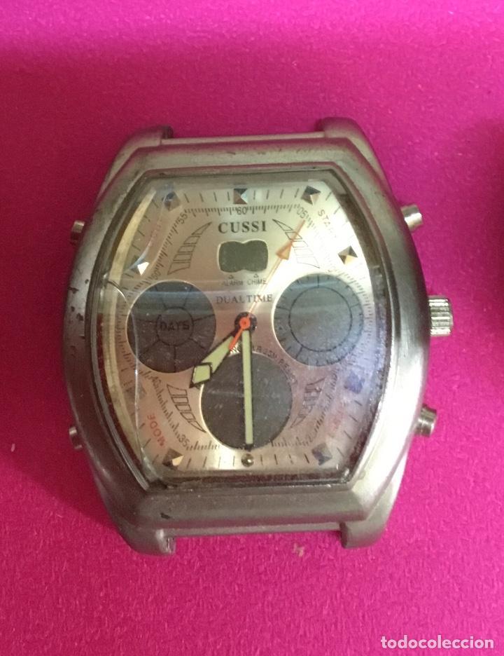 Relojes - Seiko: Lote cuatro relojes uno de ellos Seiko para reparar o piezas - Foto 3 - 118761819