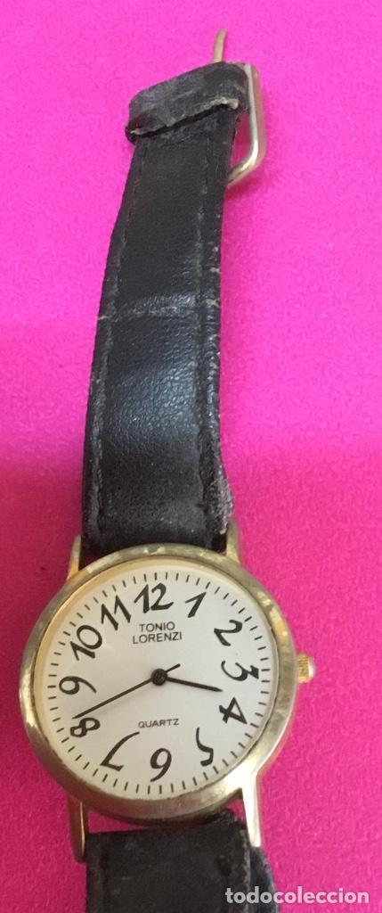 Relojes - Seiko: Lote cuatro relojes uno de ellos Seiko para reparar o piezas - Foto 5 - 118761819