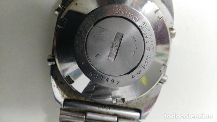 Relojes - Seiko: antiguo reloj de seiko a158 503a a1 - Foto 6 - 121235095