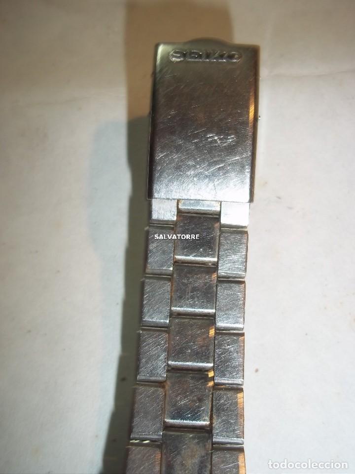 Relojes - Seiko: RELOJ AUTOMATICO SEIKO 5. ACERO.CORREA SEIKO ORIGINAL.AUTOMATIC - Foto 3 - 121273451