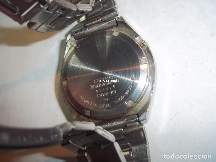 Relojes - Seiko: RELOJ AUTOMATICO SEIKO 5. ACERO.CORREA SEIKO ORIGINAL.AUTOMATIC - Foto 5 - 121273451
