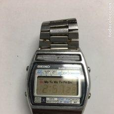 Relojes - Seiko: RELOJ SEIKO CHRONOGRAPH ANTIGUO MODELO VINTAGE EN FUNCIONAMIENTO LA LUZ TAMBIÉN. Lote 121652842