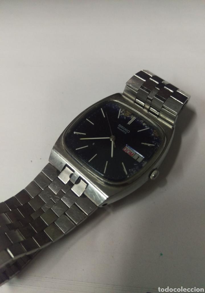 Relojes - Seiko: RELOJ SEIKO QUARTZ DE HOMBRE NO FUNCIONA desguace - Foto 2 - 208447533