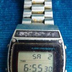 Relojes - Seiko: ANTIGUO RELOJ SEIKO DIGITAL. FUNCIONA .. Lote 122978055