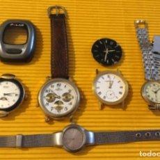 Relojes - Seiko: LOTE DE RELOJES PARA REPARAR O PIEZAS. Lote 124284963