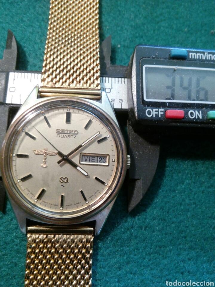 RELOJ SEIKO QUARZT, BOING HECHO PARA CONMEMORAR AL PERSONAL POR SUS 50 AÑOS DE SERVICIO (Relojes - Relojes Actuales - Seiko)