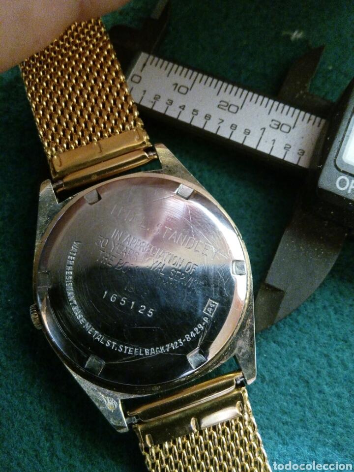 Relojes - Seiko: Reloj Seiko quarzt, BOING hecho para conmemorar al personal por sus 50 años de servicio - Foto 2 - 126796452