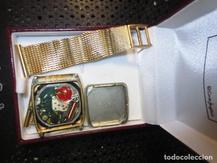 Relojes - Seiko: SEIKO TIME CORP JAPAN T RELOJ chapado en oro ANTIGUO CADENA DORADA SIN FUNCION - Foto 5 - 127580811