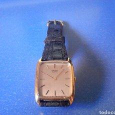 Relojes - Seiko: RELOJ SEIKO QUARTZ, ST. STEEL BACK, CON SU CORREA ORIGINAL, FUNCIONA PERFECTAMENTE. Lote 129291443