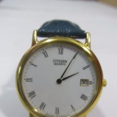 Relojes - Seiko: RELOJ SEIKO DE CUARZO CHAPADO EN ORO, PARA MUJER. Lote 129450943