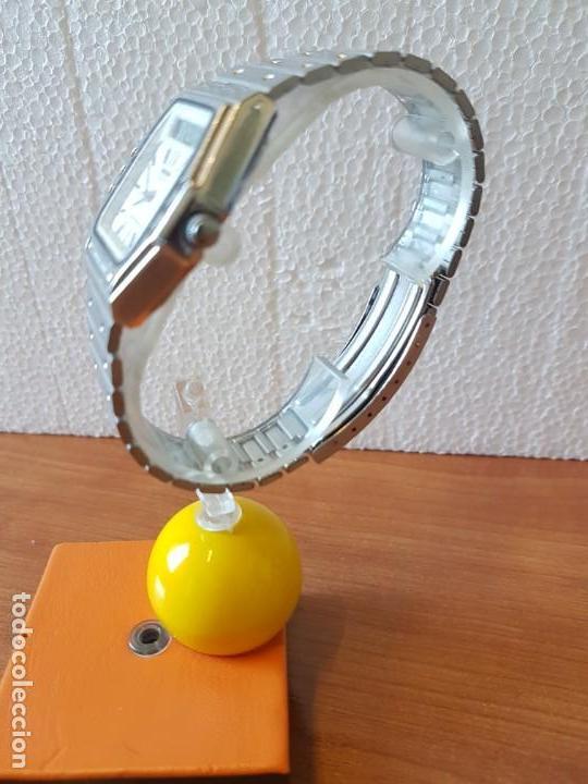 Relojes - Seiko: Reloj caballero (Vintage) SEIKO analógico y digital con alarma en acero, correa acero original SEIKO - Foto 5 - 130043523