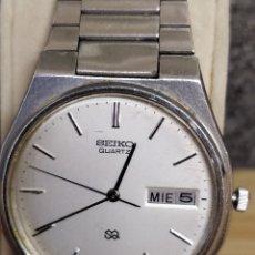 Relojes - Seiko: RELOJ SEIKO CABALLERO ACERO. Lote 132540391