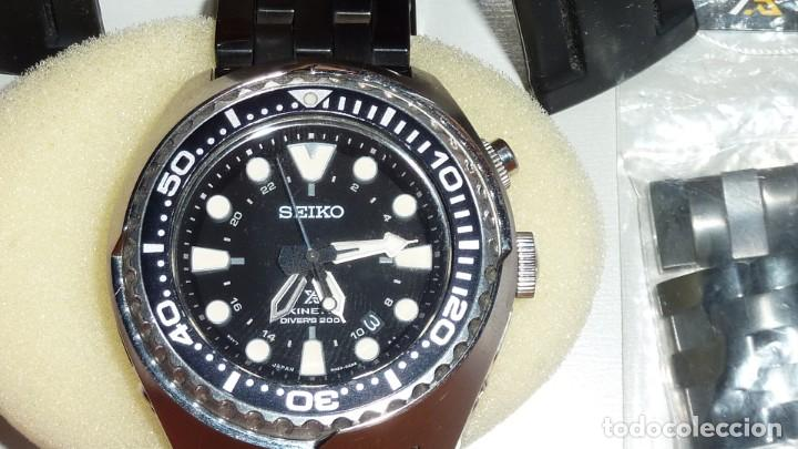 Relojes - Seiko: SEIKO KINETIC Ref. SUN019P1 JAPAN MOVEMENT. BUCEO SUMERGIBLE 200 M CRISTAL ZAFIRO - Foto 7 - 133748362