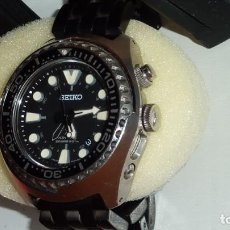 Relojes - Seiko: SEIKO KINETIC REF. SUN019P1 JAPAN MOVEMENT. BUCEO SUMERGIBLE 200 M CRISTAL ZAFIRO. Lote 133748362