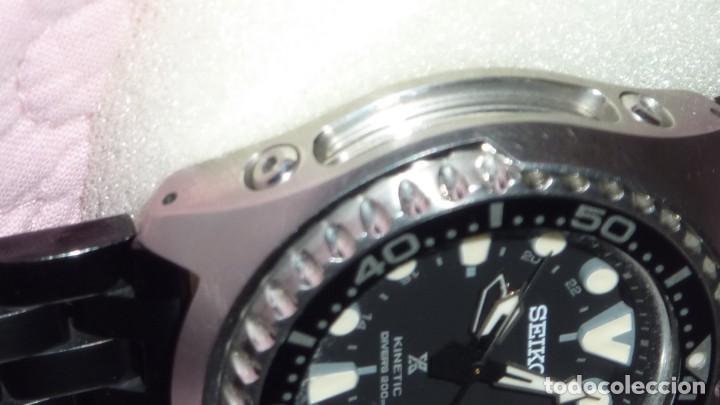 Relojes - Seiko: SEIKO KINETIC Ref. SUN019P1 JAPAN MOVEMENT. BUCEO SUMERGIBLE 200 M CRISTAL ZAFIRO - Foto 9 - 133748362