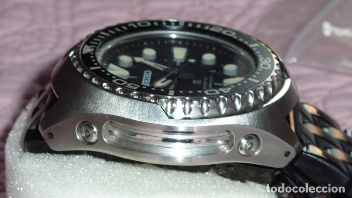 Relojes - Seiko: SEIKO KINETIC Ref. SUN019P1 JAPAN MOVEMENT. BUCEO SUMERGIBLE 200 M CRISTAL ZAFIRO - Foto 11 - 133748362