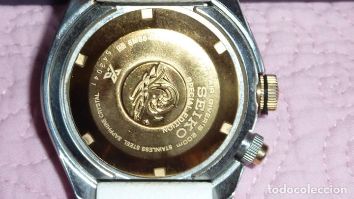 Relojes - Seiko: Reloj SEIKO Prospex Kinetic GMT Diver's Ref. SUN043P1 EDICIÓN ESPECIAL - Foto 8 - 133751422