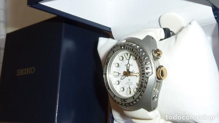 Relojes - Seiko: Reloj SEIKO Prospex Kinetic GMT Diver's Ref. SUN043P1 EDICIÓN ESPECIAL - Foto 11 - 133751422