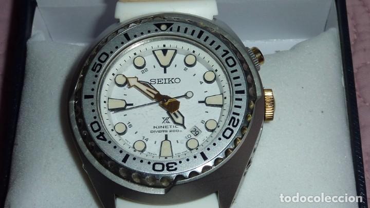 RELOJ SEIKO PROSPEX KINETIC GMT DIVER'S REF. SUN043P1 EDICIÓN ESPECIAL (Relojes - Relojes Actuales - Seiko)