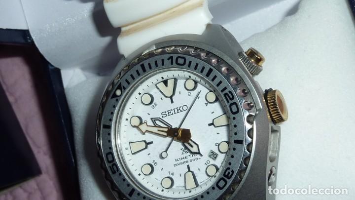 Relojes - Seiko: Reloj SEIKO Prospex Kinetic GMT Diver's Ref. SUN043P1 EDICIÓN ESPECIAL - Foto 18 - 133751422
