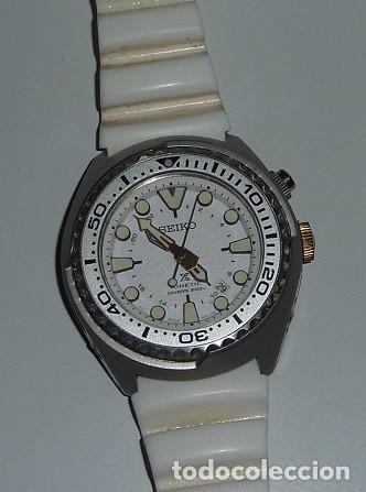 Relojes - Seiko: Reloj SEIKO Prospex Kinetic GMT Diver's Ref. SUN043P1 EDICIÓN ESPECIAL - Foto 20 - 133751422