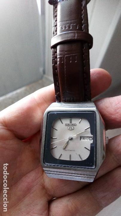 Relojes - Seiko: VINTAGE RELOJ SEIKO 5 SPORT AUTOMATICO. COMO NUEVO - Foto 3 - 134371218