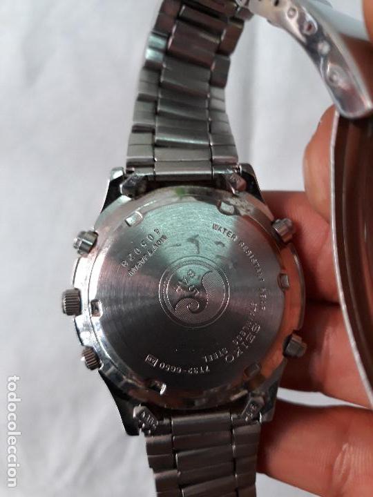 Relojes - Seiko: Reloj SEIKO CHRONOGRAPH SQ 50. - Foto 3 - 134773430