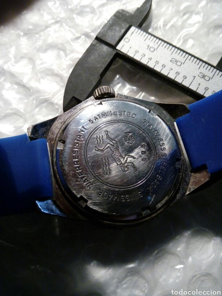 Relojes - Seiko: Reloj en caja Diver, con maquina Seiko quarzt corona a rosca un reloj raro unico y precioso - Foto 2 - 134876130