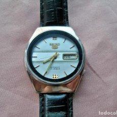 Relojes - Seiko: ANTIGUO RELOJ SEIKO 5, AUTOMÁTICO, DOBLE CALENDARIO, 17 JEWELS, MADE IN JAPÓN. Lote 135866434