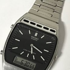 Relojes - Seiko: RELOJ VINTAGE SEIKO H249-5030 ALARM CHRONOGRAP QUARTZ MADE IN JAPAN. Lote 137460057