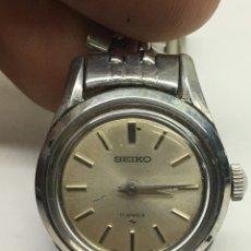 Relógios - Seiko: RELOJ SEIKO CARGA MANUAL EN ACERO COMPLETO EN FUNCIONAMIENTO PARA COLECCIONISTAS. Lote 137748488