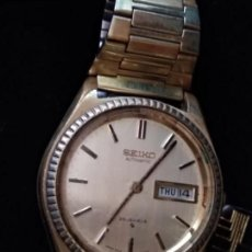 Relojes - Seiko: VINTAGE 1969 JAPAN SEIKO DORADO CABALLERO AUTOMATIC CALENDARIO 5606-7080 25 JEWELS AUTOMATIC.. Lote 138669246