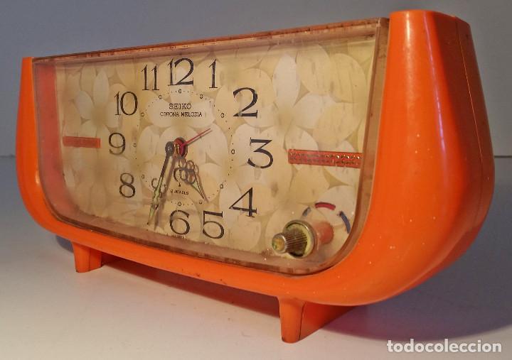 RELOJ DE SOBREMESA DE SEIKO, CON MUSICA, RARO (Relojes - Relojes Actuales - Seiko)
