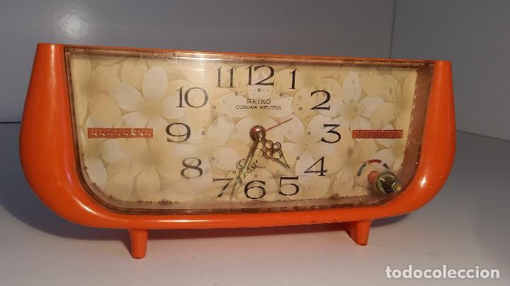 Relojes - Seiko: reloj de sobremesa de SEIKO, con musica, raro - Foto 3 - 139070298