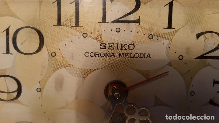 Relojes - Seiko: reloj de sobremesa de SEIKO, con musica, raro - Foto 4 - 139070298