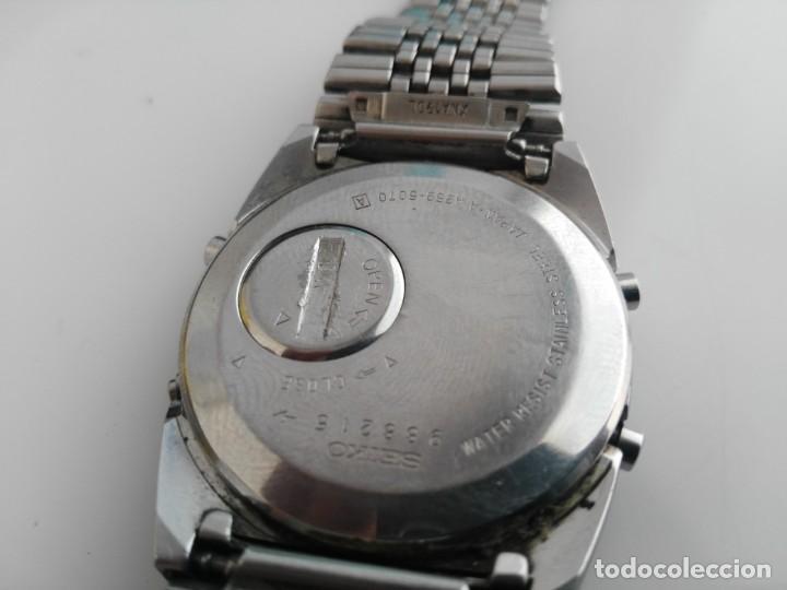 Relojes - Seiko: ANTIGUO RELOJ SEIKO A259-5070 - Foto 8 - 139451070
