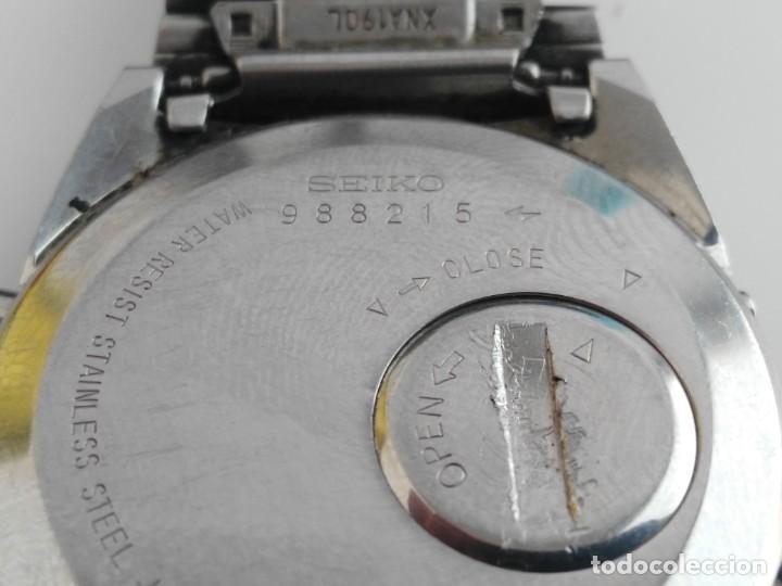 Relojes - Seiko: ANTIGUO RELOJ SEIKO A259-5070 - Foto 10 - 139451070