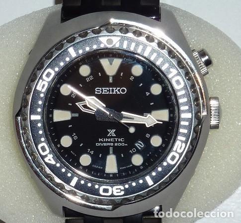 SEIKO KINETIC REF. SUN019P1 JAPAN MOVEMENT. BUCEO SUMERGIBLE 200 M CRISTAL ZAFIRO (Relojes - Relojes Actuales - Seiko)