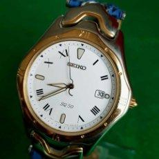 Relojes - Seiko: RELOJ SEIKO C1980, VINTAGE, NOS (NEW OLD STOCK). Lote 139471278