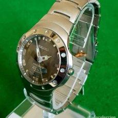 Relojes - Seiko: RELOJ SEIKO PREMIER KINETIC AUTO RELAY, C1990 VINTAGE, NOS (NEW OLD STOCK). Lote 140261038