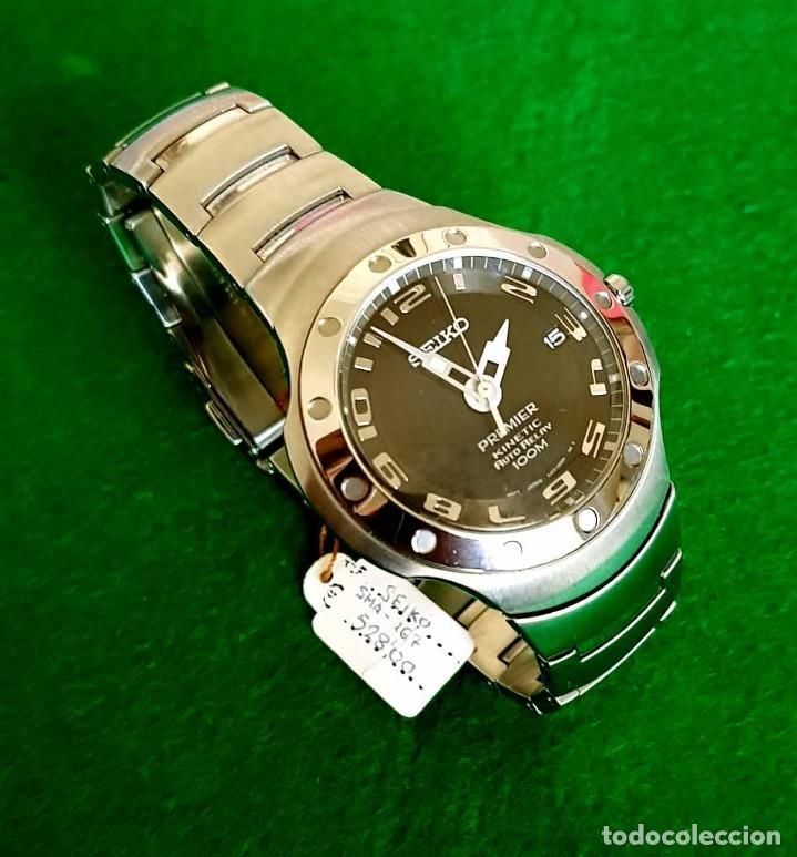 Relojes - Seiko: RELOJ SEIKO PREMIER KINETIC AUTO RELAY, C1990 VINTAGE, NOS (new old stock) - Foto 6 - 140261038