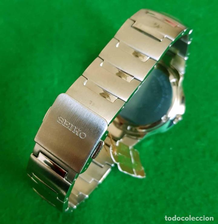 Relojes - Seiko: RELOJ SEIKO PREMIER KINETIC AUTO RELAY, C1990 VINTAGE, NOS (new old stock) - Foto 10 - 140261038