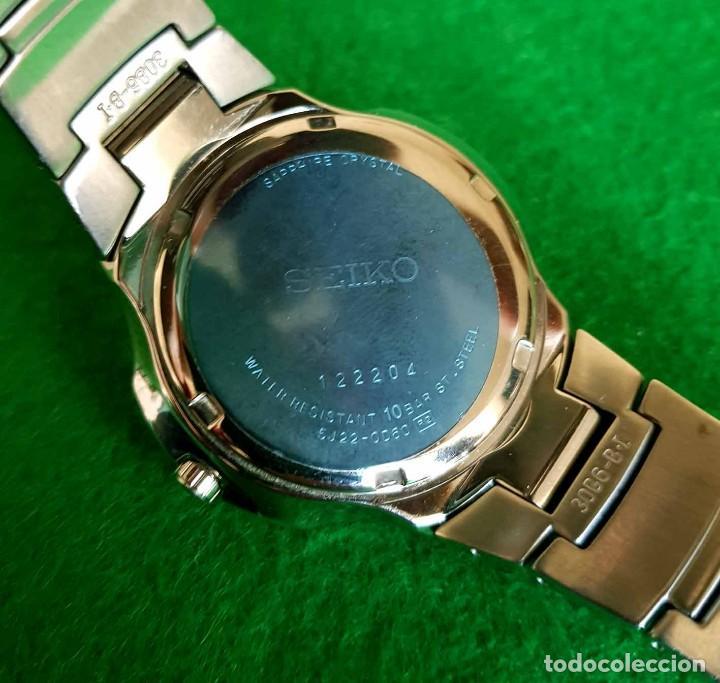 Relojes - Seiko: RELOJ SEIKO PREMIER KINETIC AUTO RELAY, C1990 VINTAGE, NOS (new old stock) - Foto 11 - 140261038