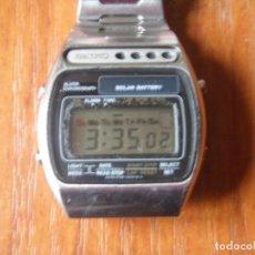 Relojes - Seiko: RELOJ DIGITAL SEIKO A-156 A156 FUNCIONANDO. Lote 143399290