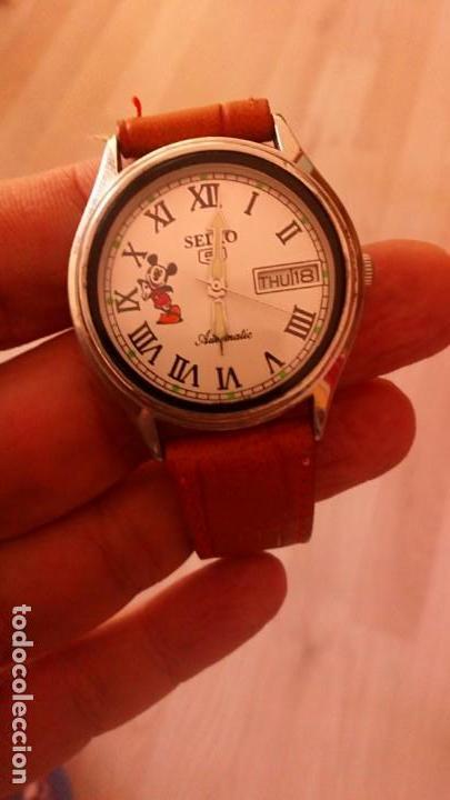 Relojes - Seiko: RELOJ SEIKO DISNEY MICKEY MOUSE AUTOMATICO. NUEVO. - Foto 2 - 145571554