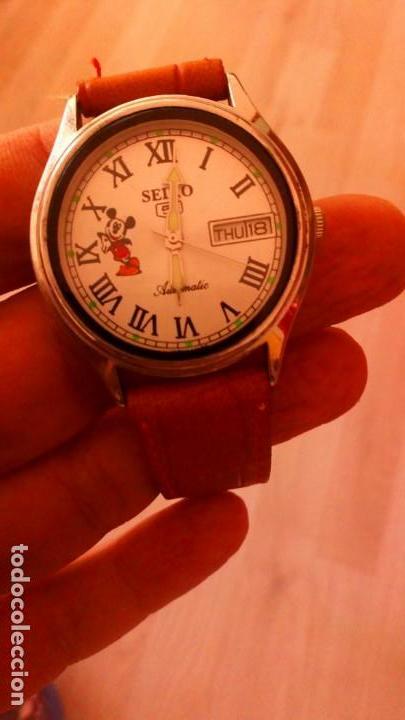 Relojes - Seiko: RELOJ SEIKO DISNEY MICKEY MOUSE AUTOMATICO. NUEVO. - Foto 3 - 145571554