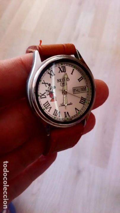 Relojes - Seiko: RELOJ SEIKO DISNEY MICKEY MOUSE AUTOMATICO. NUEVO. - Foto 4 - 145571554